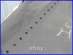 1/2 Thick 3-Ply Heavy Duty Black Smooth Rubber Conveyor Belt 35'L x 48W