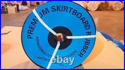1/4 x 10 x 50' Rubber Skirtboard, Conveyor Belt Sheet Rubber