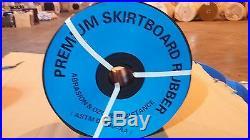 1/4 x 12 x 50' Rubber Skirtboard, Conveyor Belt Sheet Rubber