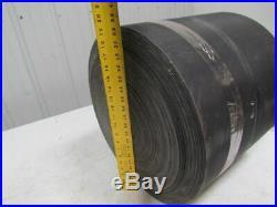 1 Ply 16x296' Black Nylon Rubber Center Conveyor Belt 3/16 Thickness