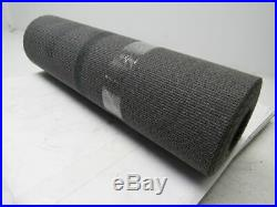 1 Ply Black Interwoven Friction Brushed Conveyor Belt 24' X 24 X 0.095
