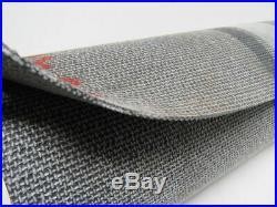 1 Ply Black Interwoven Friction X Brushed Conveyor Belt 35' X 19-3/4 X 0.095