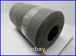 1 Ply Black Interwoven Polyester Brushed Conveyor Belt 30Ft X 17 0.205 Thick