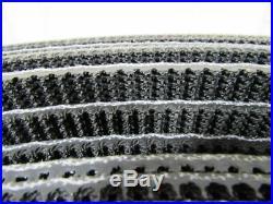 1 Ply Black Rough Top Incline Conveyor Belt 314' X 12 X 0.245 Thick