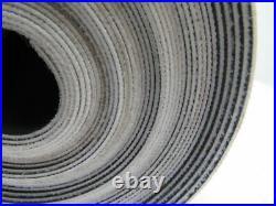 1 Ply Black Slip Top Fabric Backed Conveyor Belt 41' X 15-1/2 X 0.060