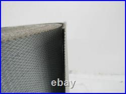 1 Ply Black Slip Top Fabric Backed Conveyor Belt 80' X 15-1/2 X 0.070