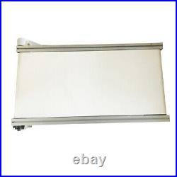 110V 120W 47.2X15.7 White PVC And Aluminu Belt Conveyor Machine New Brand