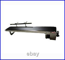 110V Small Electric Desktop Conveyor Belt Machine One Fence Packaging Supply