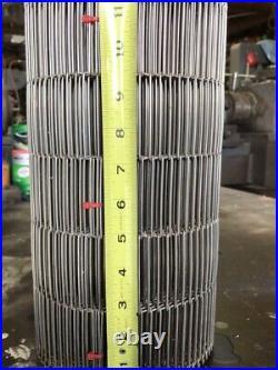 12 stainless steel conveyor belt 19 8 total