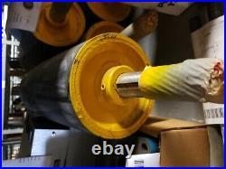 13 X 5-3/8 OD With1.164 OD Shaft Conveyor Belt Crowned Drive Roller