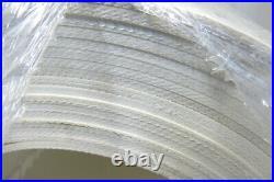 18 W 3 Ply 9/64T Smooth Top Interwoven PVC Conveyor Belt 44'4