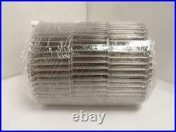 185812 New-No Box, Wirebelt 4591SS Flat Flex Conveyor Belt, SS, 10-1/4 W x 25