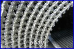 19 1 Ply 7/32T Interwoven Rough Top Incline Conveyor Belt 18'6