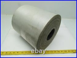 2-Ply Black Nylon Slip Top Impression Conveyor Belt 9.75x51' Long
