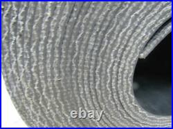 2-Ply Black PVC Smooth Top Interwoven Fabric Conveyor Belt 48' x 13-7/8 x. 172