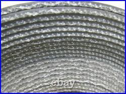 2-Ply Black PVC Smooth Top Interwoven Fabric Conveyor Belt 50' x 11 x. 160