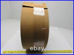 2-Ply Black Rubber Impression Top Conveyor Belt 100' X 6 X 0.136