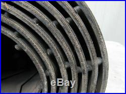 2 Ply Molded Rubber Closed Chevron Conveyor Belt 36 x 20'x 5/16