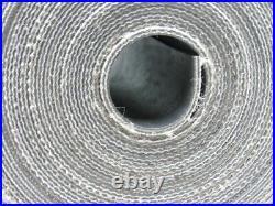 2-Ply Smooth Top PVC Rubber Black Conveyor Belt 221' X 5-1/2 X 0.078