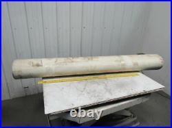 2 Ply White Smooth Top Conveyor Belt 7' X 72-1/2 X 0.125