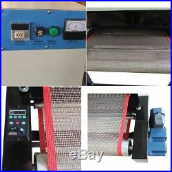 220V 6KW 31.5 Wide Belt Conveyor Tunnel Dryer for Small T-shirt Screen Printing