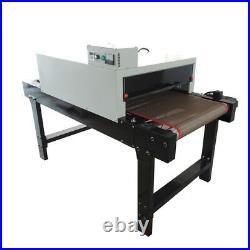 220V T-shirt Conveyor Tunnel Dryer for Screen Printing 5.9ft x 25.6'' Belt