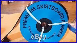 3/8 x 10 x 50' Rubber Skirtboard, Conveyor Belt Sheet Rubber