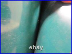 3-Ply Blue-Green PVC Rubber Smooth Top 2-Sided Conveyor Belt 30.75 Wide 47'Long