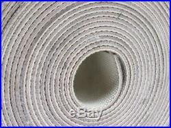 3-Ply White Rubber Grip Top Conveyor Belt 74' X 6 X 0.137