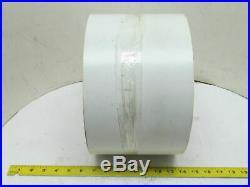 3-Ply White Smooth Top Rubber Conveyor Belt 7-1/8 Wide 66' Long 1/8 Thick