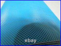 3 ply blue x embossed top and back conveyor belt 31ftx29-1/2 5/32 thick