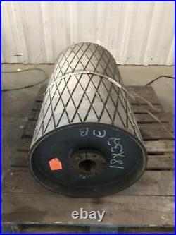32 X 18 Lagging Conveyor Belt Drum Pulley 3 Shaft Bore