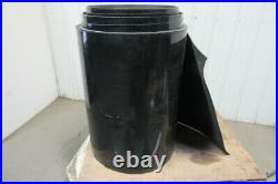 34 Interwoven Back 9/64Thick 1 Ply Rubber Smooth Top Conveyor Belt 253