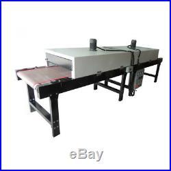380V 14KW Conveyor Tunnel Dryer 13ft Long x 25.6 Belt for Screen Printing