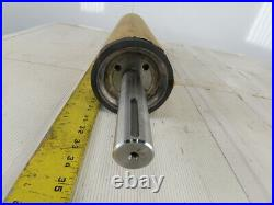 4-1/2 OD 21-3/4 BF 21 Face Rubber Lagged Conveyor Belt Pulley TL Axle