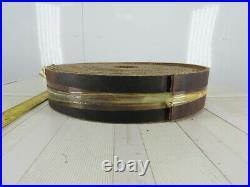 4 3 Ply Woven Back Diamond Cleat Incline Decline Conveyor Belt 55
