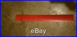 42 conveyor belt cleaner / scraper