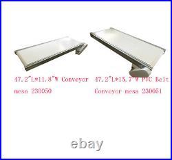 43-82.6 Variety Width & Length Belt Conveyor Systerms Transport Machine 110V