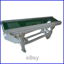 59(1.5m) PVC Belt Inclined Wall Conveyor, Easy to ship, 11.8Wide Conveyors, New