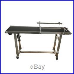 59x11.8 PVC Belt Conveyor Versatile Flat Wide Conveyor System Best