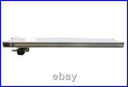 59x7.8 Electric Belt Conveyor Transport Machine Adjustable Speed White PVC