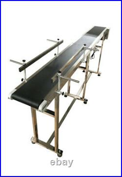 82.6 Long Conveyor Electrial Belt Conveyor Flat Moving Conveyor Transfer System