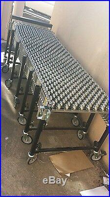 Accordian style conveyor belt