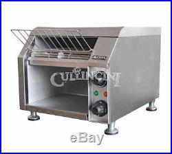 Adcraft Conveyor Toaster Dual Side Wide Belt Stainless Steel Cvyt-120
