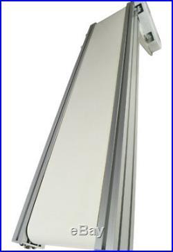 Aluminum&PVC Belt mesa, Conveyor, 0-20m/min, 47.27.8,110V, Industry Shipping Best