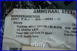 Ammeraal Belted Flexam 74 in x 36.5 Conveyor Belt 068-002-000066 RS125 S 438-100