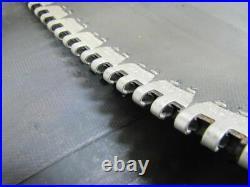 Apache 20013600 Heavy Duty 2-Ply Black Rubber Conveyor Belt Approx. 18' X 32