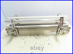 Arrowhead Conveyor Magnetic Table Top Mid Section Stainless SS 30 Washdown Belt