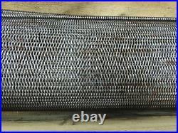 Ashworth Bros. Inc 36 Wide Woven Wire Mesh Conveyor Belt 22' Long