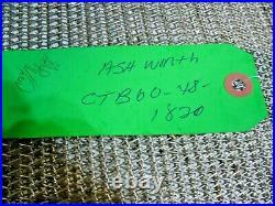 Ashworth CTB60-48-1820 Cleatrac Wire Mesh Conveyor Belt 37ft X 7-3/8in